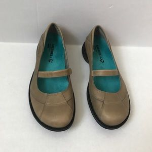 Merrell Mary Jane Shoes Tan Size 6